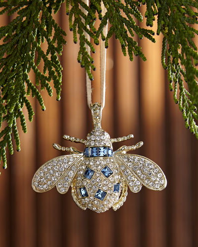 Classic Bee Hanging Christmas Ornament