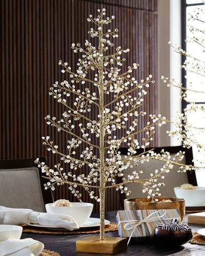 Glimmer & Gold Crystal Tree, 24