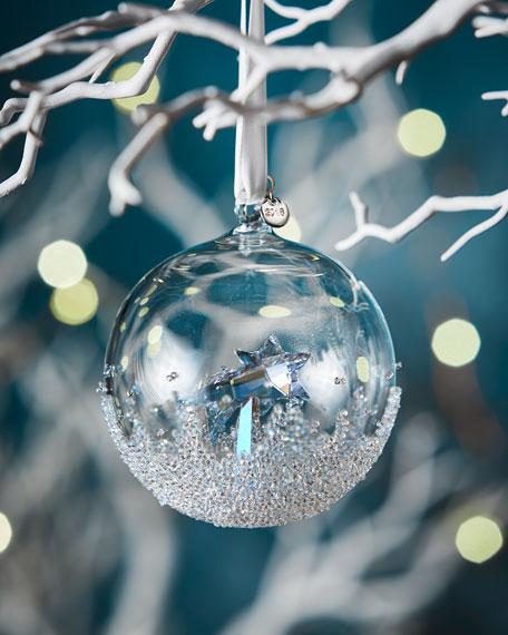 - Swarovski 2018 Annual Edition Christmas Ball Ornament