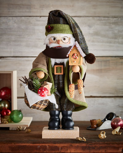 Santa Forest Friends Nutcracker