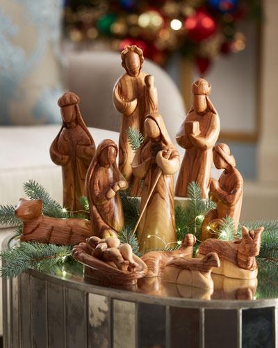 12-Piece Large Nativity Set