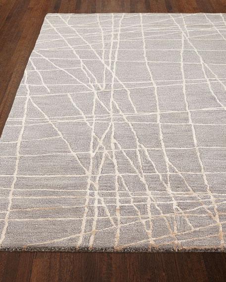 Bane Hand-Tufted Rug, 5.6' x 8.6'