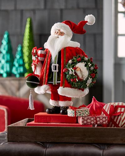 Classic Standing Santa Figure, 20