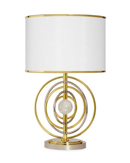 Electrum Kenetic Table Lamp