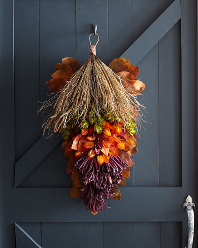 Fall Harvest Door Spray, 30
