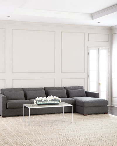 Thyrine Right-Facing Sectional