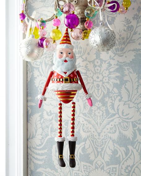 Papa Noel Hanging Figure