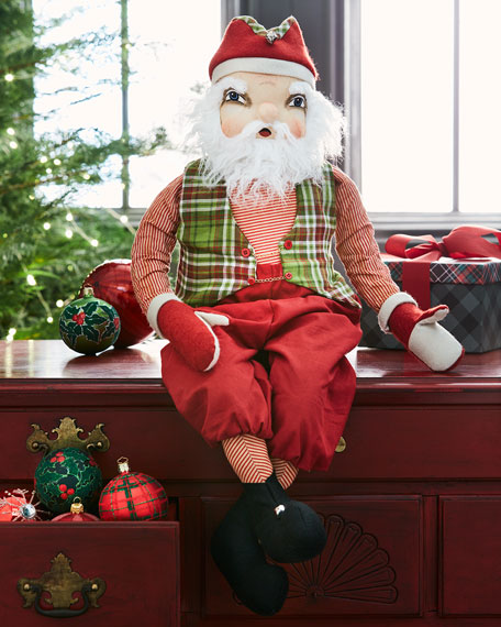 Joe Spencer McDonald Santa Figure