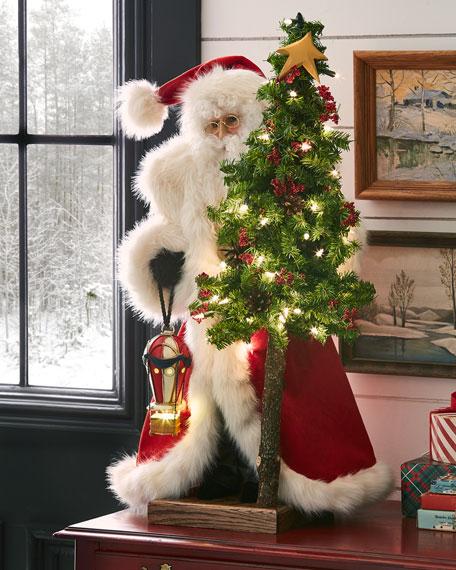 Papa Noel with Tree