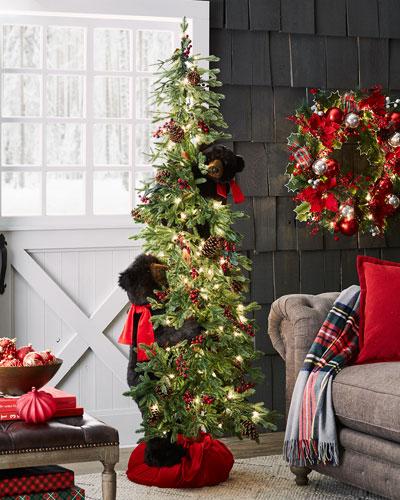 Winnipeg Christmas Tree with Bears, 72