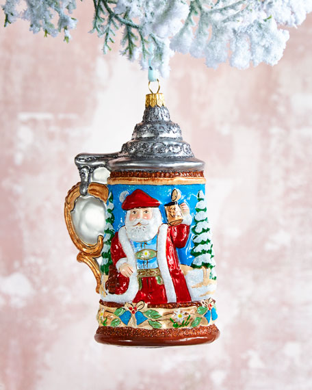 Beer Stein Christmas Ornament