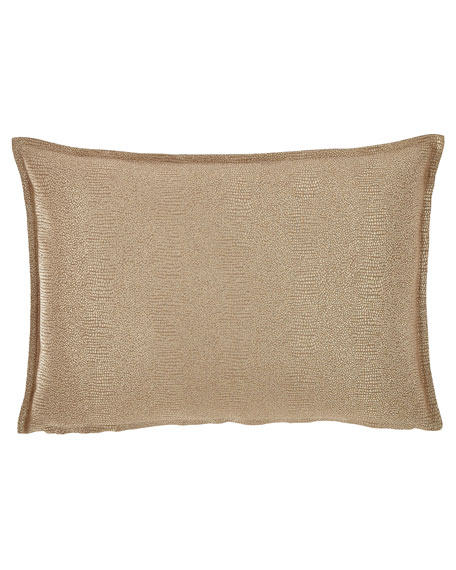 Gecko Decorative Oblong Pillow