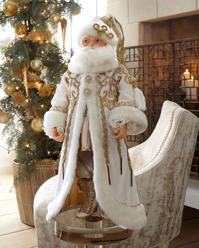 Thread of Gold Santa Doll, 24