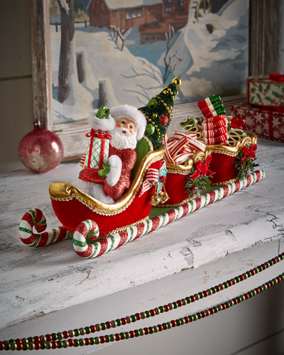 Santa Sleigh with 2 Containers