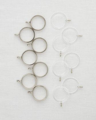 Vault Rings, Set of 7
