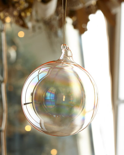 120mm Glass Ball Christmas Ornament
