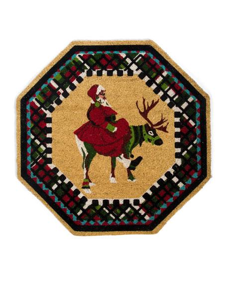 Olde Time Santa Entrance Mat