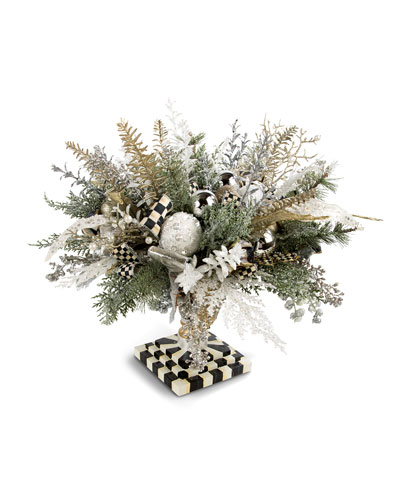 Silver Lining Holiday Centerpiece