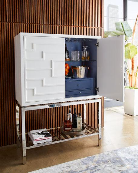 Mona Blanc Bar Cabinet
