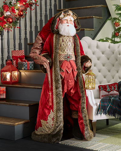 Life-Size Holiday Cheer Santa