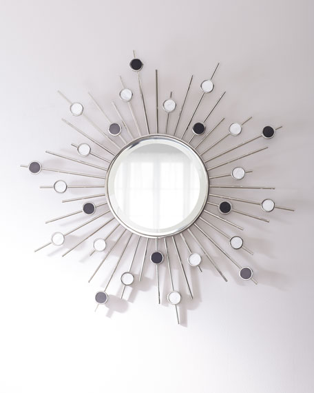 Marble Accent Mirror