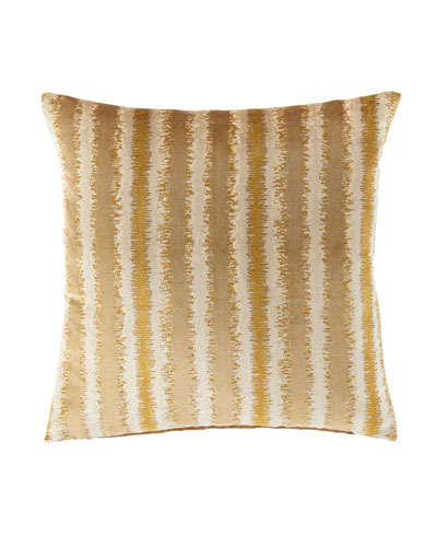 Aslan Honey Knife-Edge Pillow