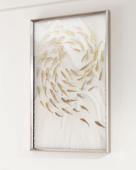 """Robat's School of Fish"" Wall Art"