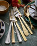 20-Piece Gold Harrington Flatware Set