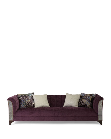 Bethany Channel Tufted Sofa 109""