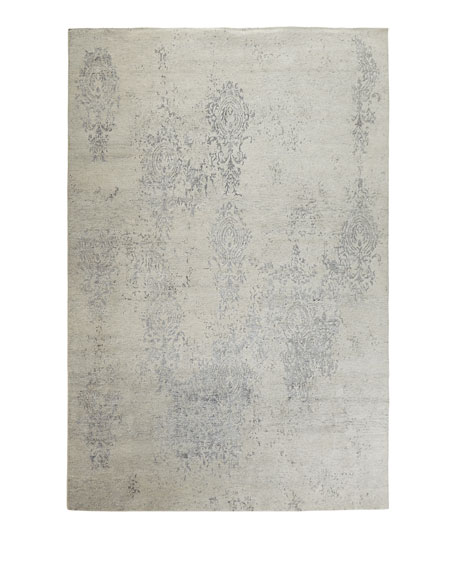 Minette Hand-Knotted Runner, 2.3' x 8'