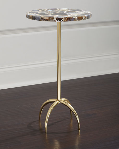 John-Richard Collection Agate Martini Table