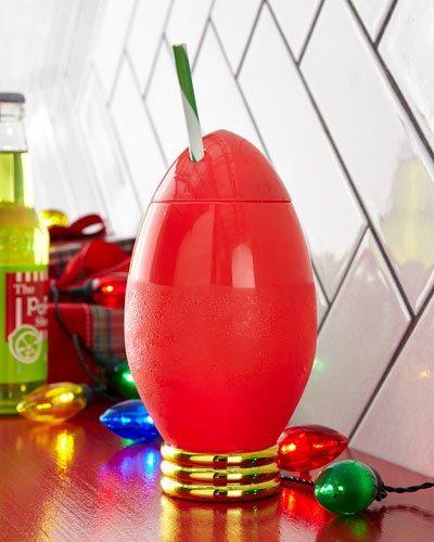 Holiday Light Bulb Cup
