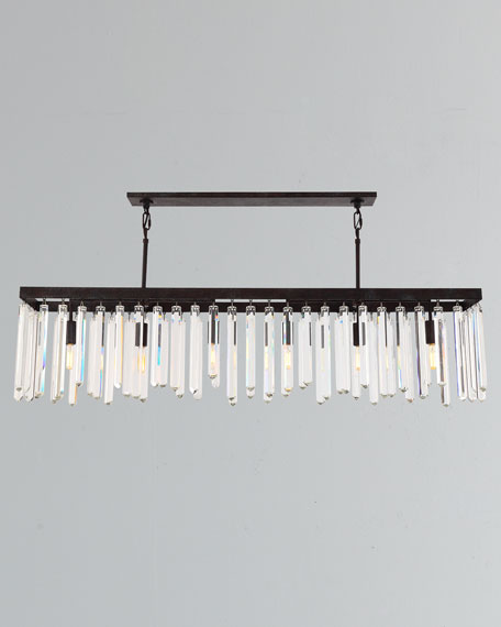 Hollis 6-Light Bronze Chandelier