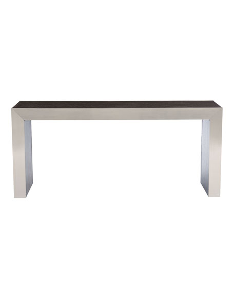 Decorage Steel & Oak Console Table