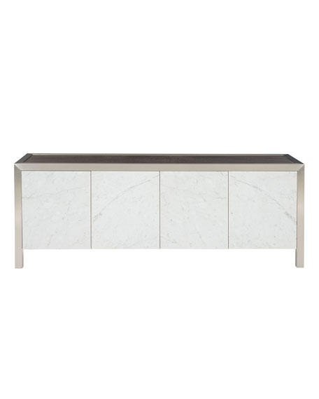 Decorage Marble Door Entertainment Console