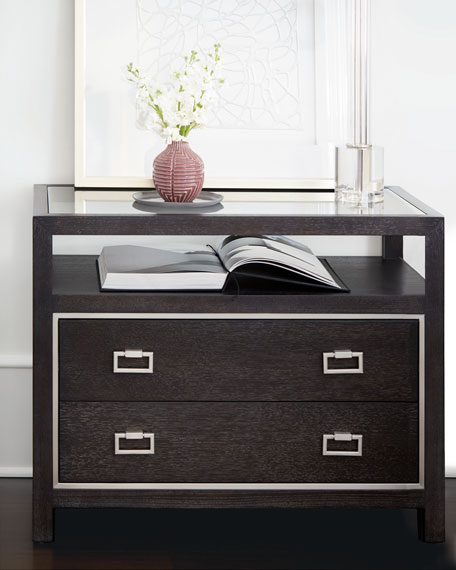 Bernhardt Decorage 2-Drawer Night Stand