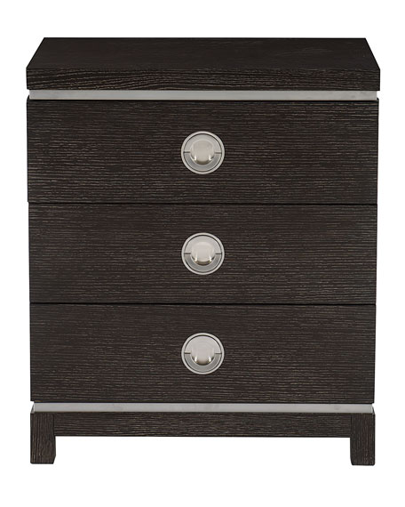 Decorage Petite 3-Drawer Night Stand