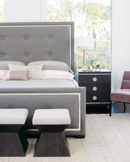 Bernhardt Decorage Upholstered Bedroom Bench