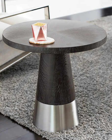 Decorage Conical Base End Table