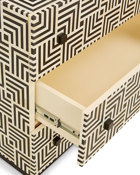 Labyrinth 3-Drawer Chest