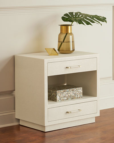 Robyn Bedside Chest  White