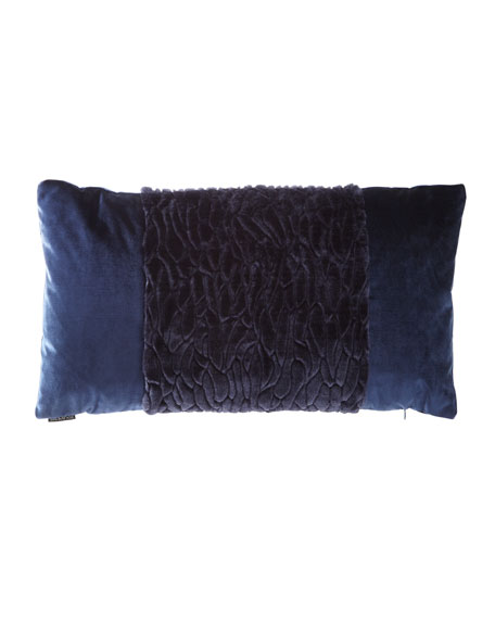 D.V. Kap Home Callard Band Velvet Pillow