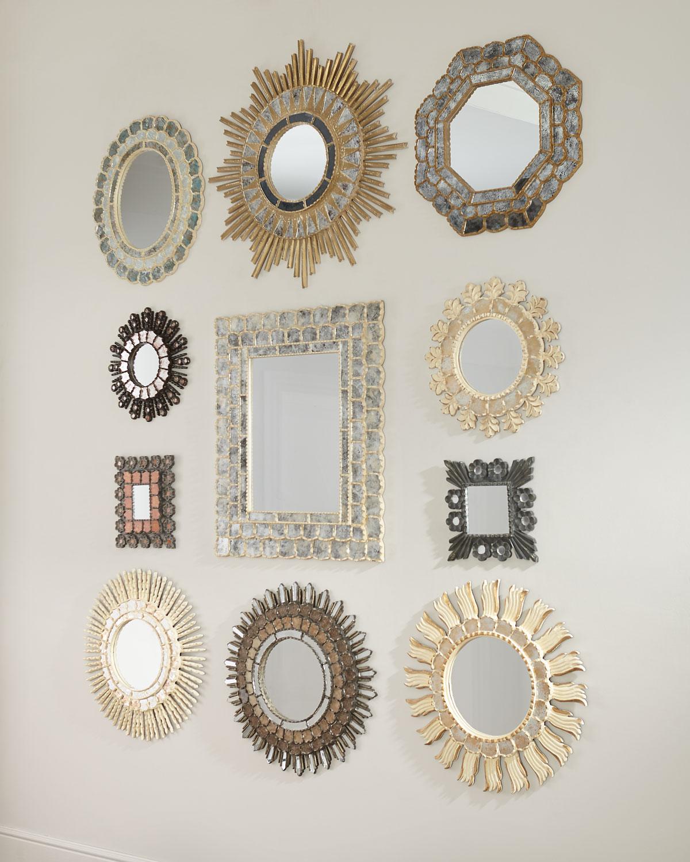 Carved Melgar Mirrors Set Of 11