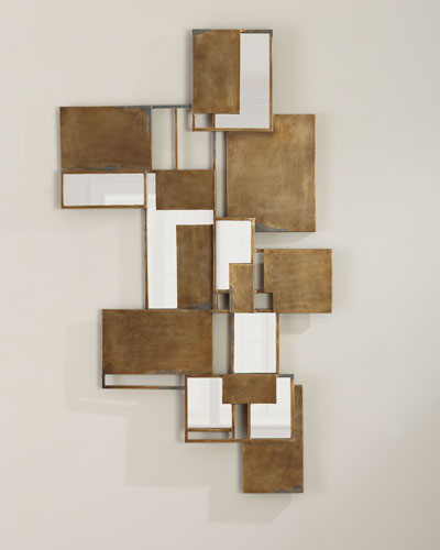 Optical Wall Art Mirror