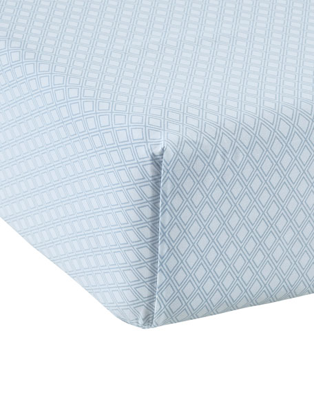 Leonie 200 Thread-Count Queen Fitted Sheet