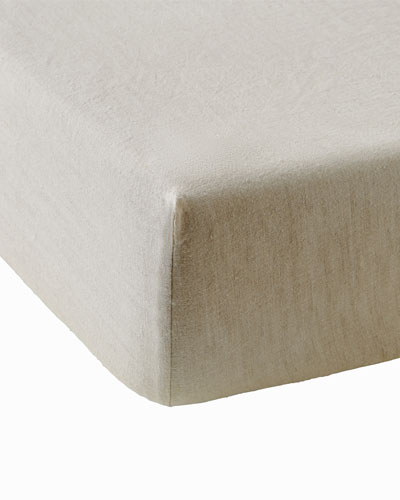 Champetre Stone-Washed Linen  Fitted Sheet