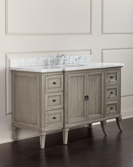 Danbury Marble-Top Vanity Chest