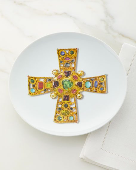 Love Who You Want Lacroix Byzantine Plate