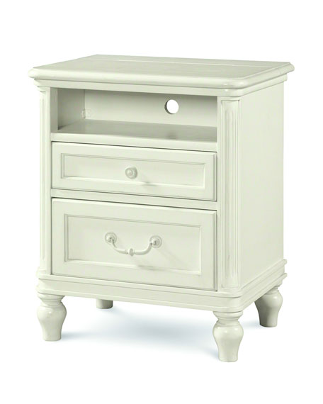 Blake Nursery/Kid's Two-Drawer Night Stand