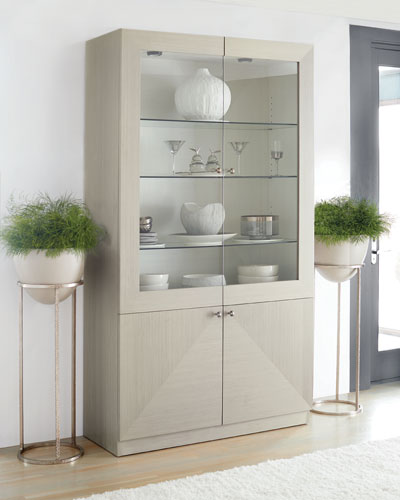 Axiom Four-Door Display Cabinet